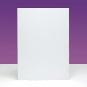7'' x 5'' Blank Cards & Envelopes Ink Me Dove White