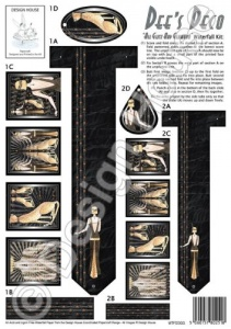 All Glitz and Glamour - Dee's Deco - Waterfall Kit - Design House