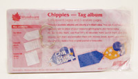 Chippies Tag Album Woodware JL703