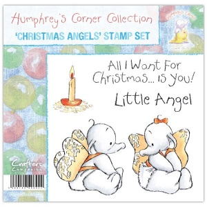 Christmas Angels Humphrey's Corner Stamp Set