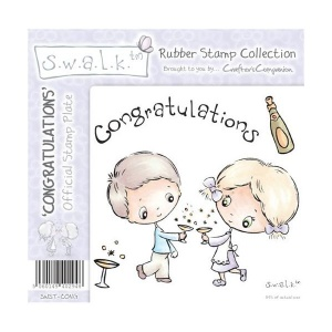 Congratulations SWALK Rubber Stamp Collection
