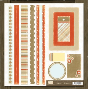 Cowgirl Collection Bands, Tags & Frames Crate Paper GL159