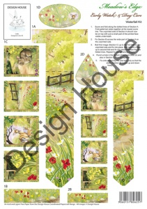 Early Watch & Day Care Waterfall Sheet Meadow's Edge Collection