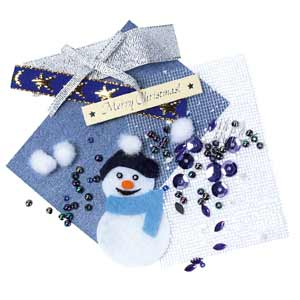 Embellishment Bead Set - Purple Christmas - Papermania PMA 7606