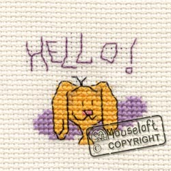 Hello Stitchlets Cross Stitch Card Kit 014-547stl