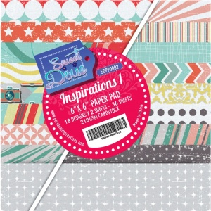 Inspirations One 6 x 6 Paper Pad Sweet Dixie SDPP0002