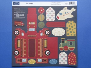 Little Boy Box & Tags Karen Foster Design 60923
