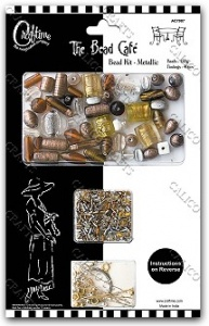 Metallic Jewellery Kit - The Bead Cafe - AC7087