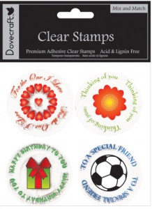 Mix and Match Clear Stamps Dovecraft DCCS10