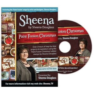 Paint Fusion Christmas DVD by Sheena Douglas