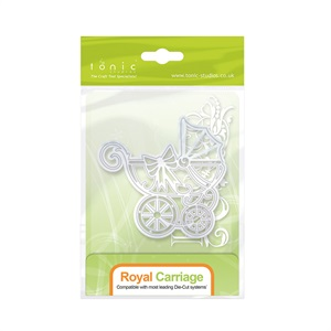 Royal Carriage Die Baby Rococo Tonic Studios 1274E