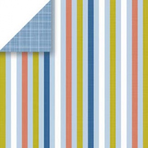 Sandbox Stripe Scrapbook Walls 20528