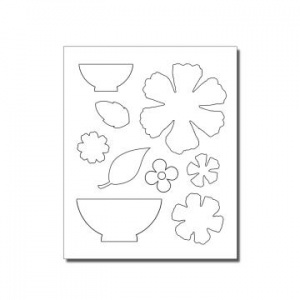 Spring Fling Template Moorish Collection
