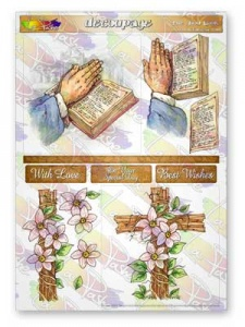 The Good Book Decoupage Sheet La Pashe Value Collection