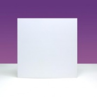 6'' x 6'' Blank Cards & Envelopes Dove White Ink Me!