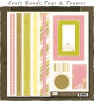 Twirl Bands, Tags and Frames TW167