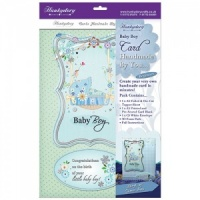 Baby Boy Card Kit Handmade By You Collection HBY23