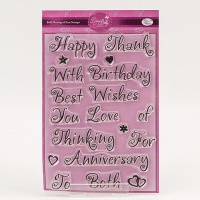Bold Messages Stamp Set Dawn Bibby Creations