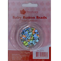 Boys Baby Button Brads Woodware JL126