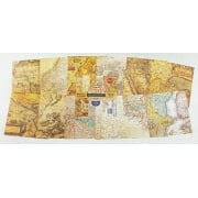Cartography Mixed Media Paper Pad 6x6 24 Sheets 190gsm IND0228