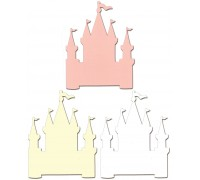 Castle Shaped Cards With Envelopes
