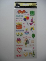Celebration Pictures Accent Stickers - Papermania