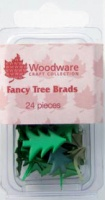 Christmas Tree Brads Woodware JL121