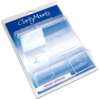 Claritystamp Assorted Mounts Set of 5