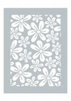 Daisy Days Stencil Dawn Bibby Creations DBST03