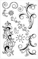 Embellishing Flourishes Rubber Stamps Ecogreen Crafts 04317
