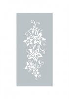 Exotic Posy Stencil Dawn Bibby Collection DBST05