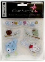 Feathered Friends Clear Stamps Dovecraft DCCS05