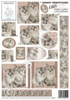 Friends Together - Simply Photogenic Cats - Twisted Pyramid - Design House