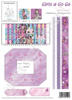 Girly Days Girls A Go Go Double Take Sheet