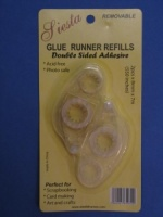 Glue Runner Refills Removable Twin Pack
