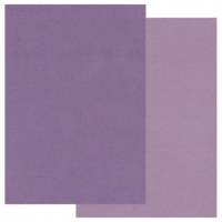 Groovi A5 Two Tone Coloured Parchment Purple