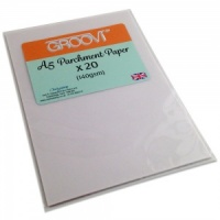 Groovi Parchment Paper A5 Claritystamp GRO-AC-40020-XX