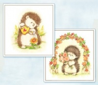 Grown With Love -  Hedgerow Friends Toppers - Flower Soft