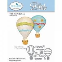 Hot Air Balloons Dies Elizabeth Craft Designs 1150