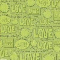 I Love Tennis Karen Foster Design 60834