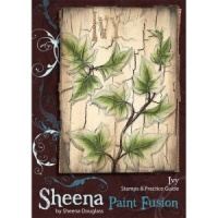 Ivy Set Paint Fusion Unmounted Rubber Stamps by Sheena Douglas