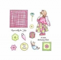 Jenny Patchwork Polly and Friends Stamp Set