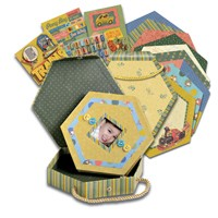 Kazoo Kids Mini Book & Box Kit - Over 120 pieces K & Company