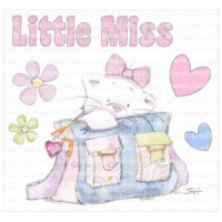 Little Miss Strawberry Kisses Collection Unmounted Stamp Set STBK-MIS