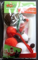 Make Your Own Christmas Pom Pom Buddies Kit