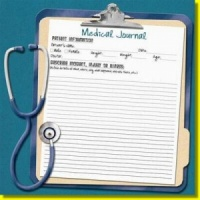 Medical Records - 12 x 12 Paper - Karen Foster Design 60537