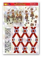 Morris Men Decoupage Plus The Wrinklies Collection