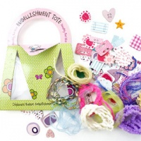 Naughty But Nice Embellishment Tote - Smirk - Trimcraft