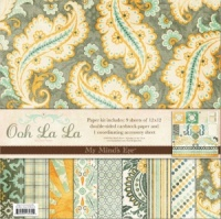 Ooh La La For Him Scrapbook Kit My Minds Eye
