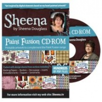 Paint Fusion CD-Rom by Sheena Douglas CD-SDPF